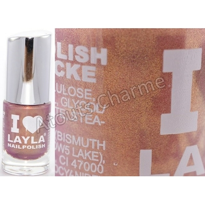 LAYLA - Vernis à Ongles Collection I Love Layla - 12 SUNSET DREAM