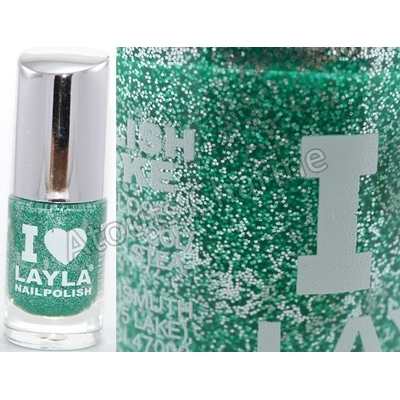 LAYLA - Vernis à Ongles Collection I Love Layla - 11 GLITTY GREEN