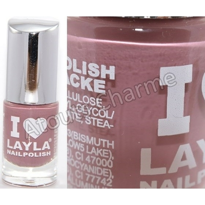 LAYLA - Vernis à Ongles Collection I Love Layla - 15 MAUVY MAUVE