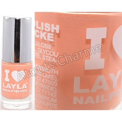 LAYLA - Vernis à Ongles Collection I Love Layla - 18 PEACHY PASSION