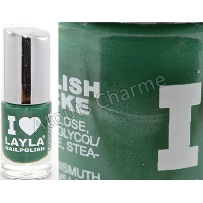LAYLA - Vernis à Ongles Collection I Love Layla - 20 DEEP GREEN