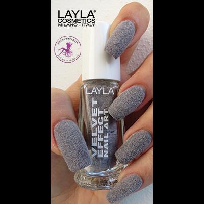 LAYLA - Nail Art Velvet Effect / Poudre de Velour - 03 FEELING SAND