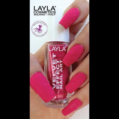 LAYLA - Nail Art Velvet Effect / Poudre de Velour - 08 CANDY TOUCH