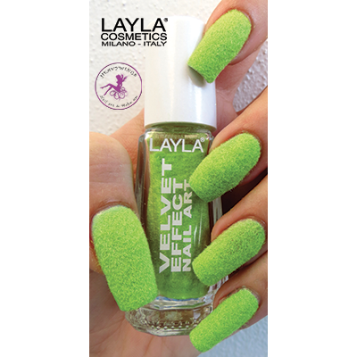LAYLA - Nail Art Velvet Effect / Poudre de Velour - 07 LEMON SOFT