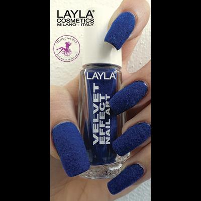 LAYLA - Nail Art Velvet Effect / Poudre de Velour - 09 SWEET DREAMS