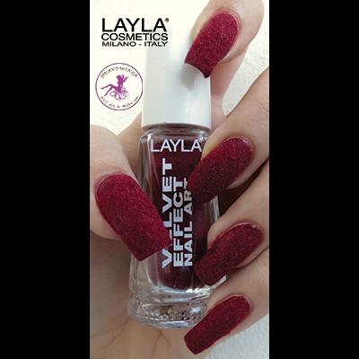 LAYLA - Nail Art Velvet Effect / Poudre de Velour - 10 PASSION MOOD