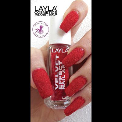 LAYLA - Nail Art Velvet Effect / Poudre de Velour - 11 ROSE PETALS
