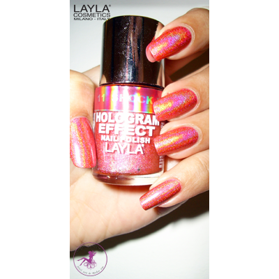 LAYLA - Vernis Ongles Collection Hologram Effect - 11 SHOCK PINK