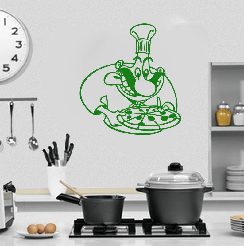 Stickers cuisine pizza olo r f 04 deco cuisine destock for Destock cuisine