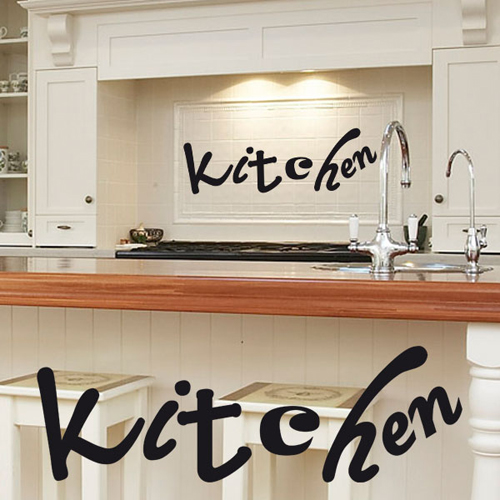 Stickers d co cuisine kitchen deco cuisine destock - Stickers pour cuisine decoration ...