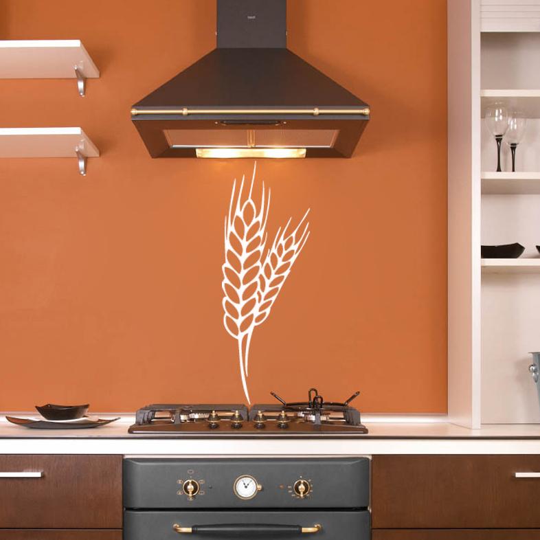 stickers d co cuisine pis de bl deco cuisine destock stickers. Black Bedroom Furniture Sets. Home Design Ideas