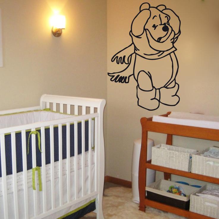 sticker winnie l 39 ourson 03 les enfants destock stickers. Black Bedroom Furniture Sets. Home Design Ideas