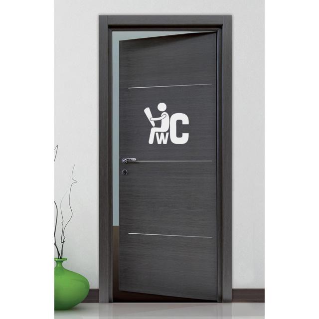Stickers Toilettes Wc Assis D Co De La Maison Destock