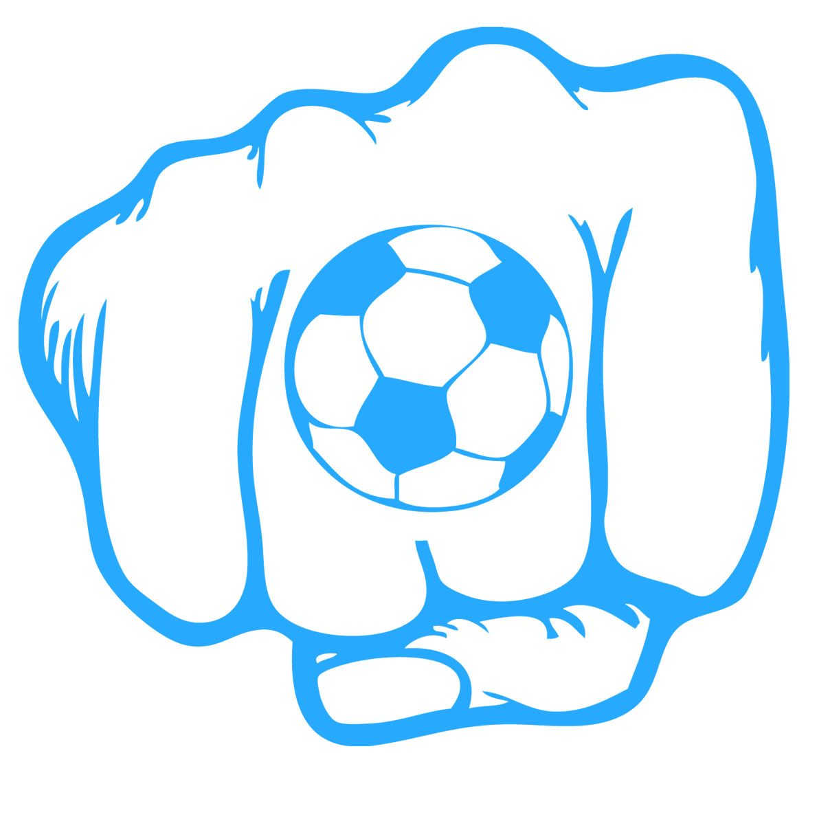 stickers poing football sport foot destock stickers. Black Bedroom Furniture Sets. Home Design Ideas