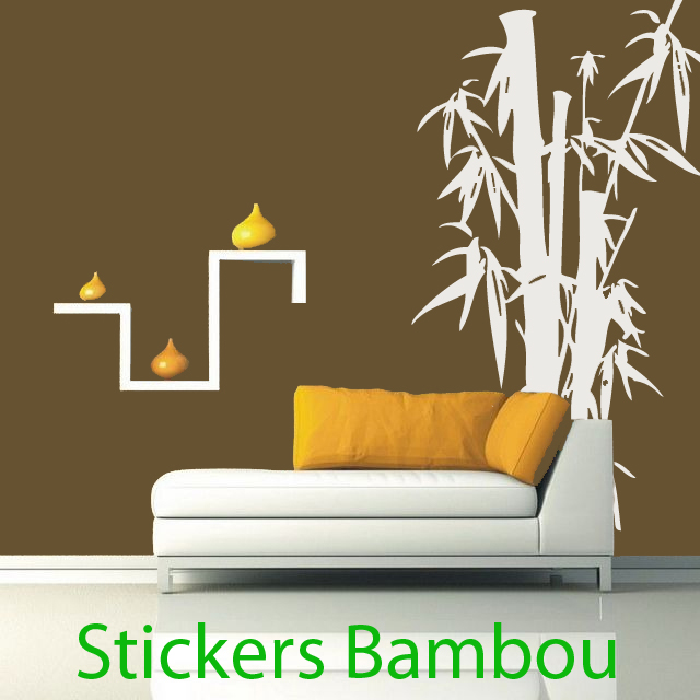 sticker bambou 004 nature bambous destock stickers. Black Bedroom Furniture Sets. Home Design Ideas