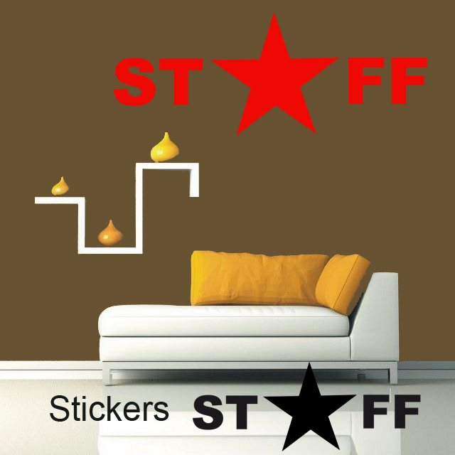 stickers staff d co de la maison destock stickers. Black Bedroom Furniture Sets. Home Design Ideas