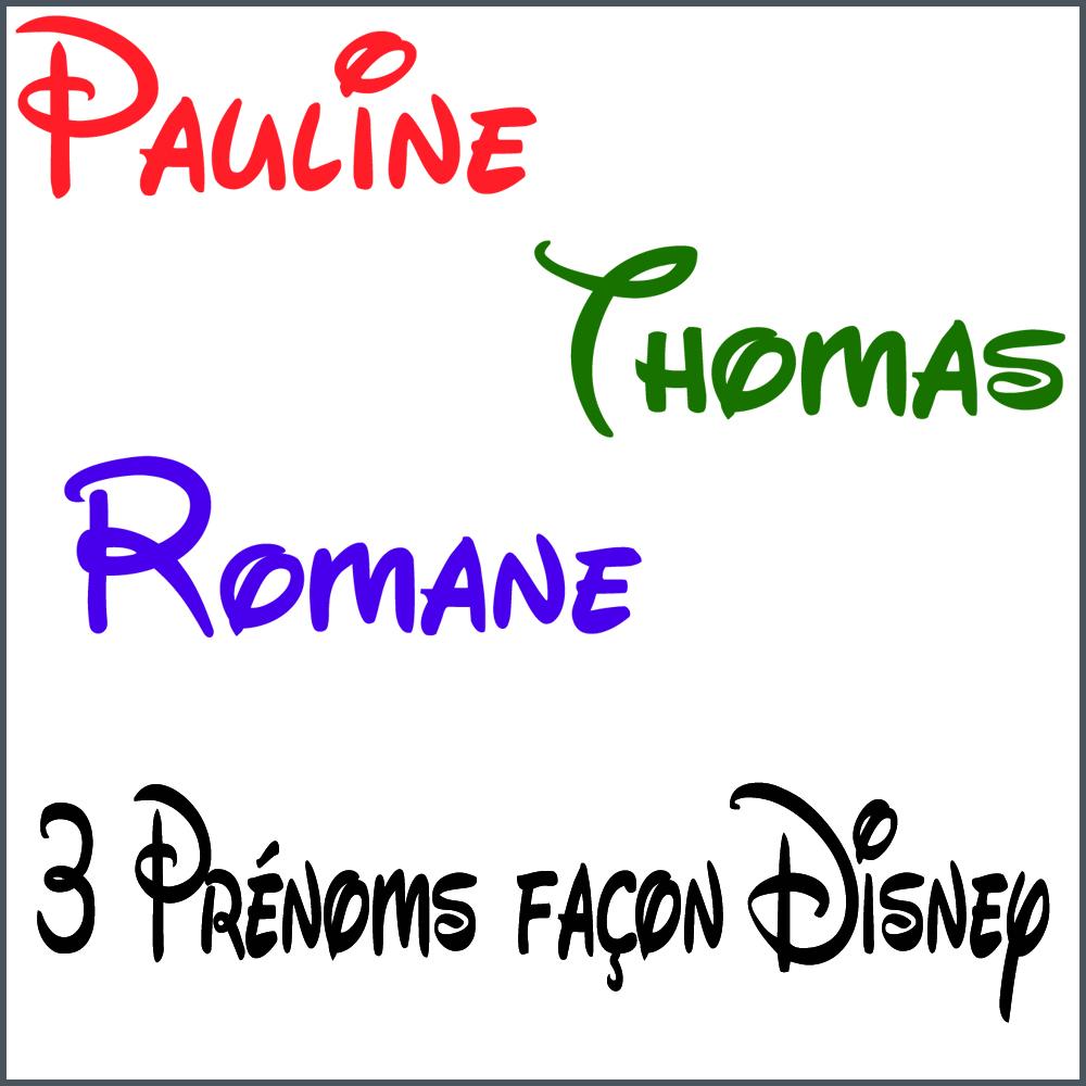 Stickers 3 pr noms ou mots fa on disney stickers personnalis s prenoms mots destock stickers - Lettre disney ...