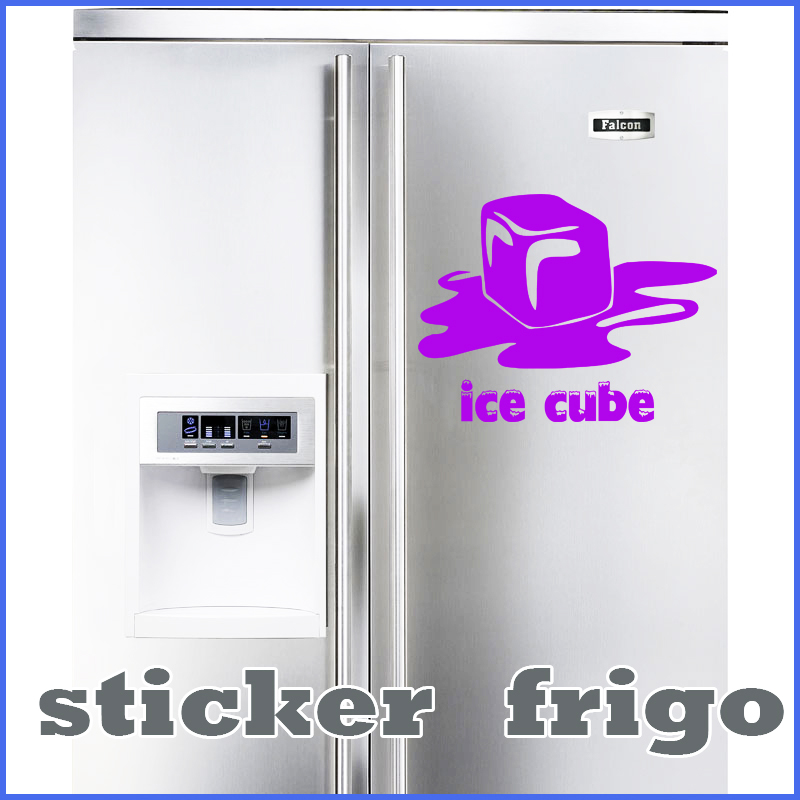 stickers d co cuisine frigo ice cube deco cuisine destock stickers. Black Bedroom Furniture Sets. Home Design Ideas