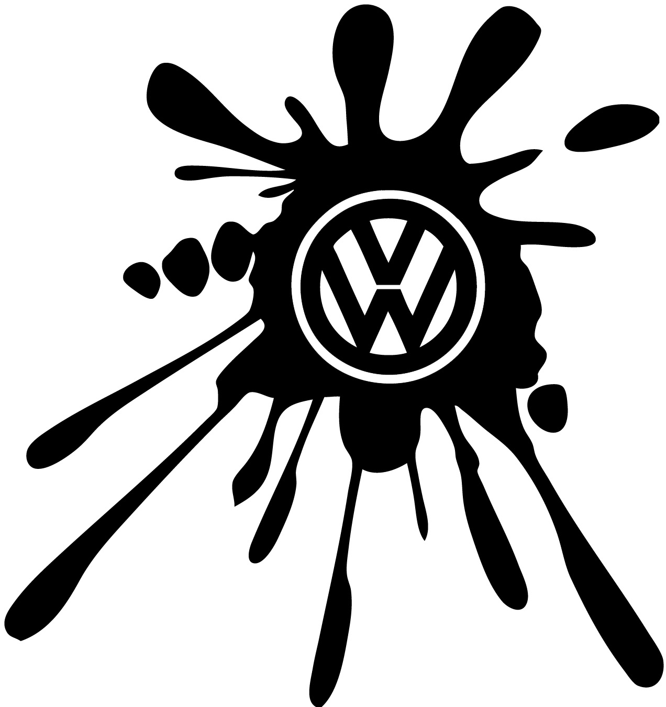 Stickers tuning Volkswagen Tache de peinture - Tuning/Auto - Destock-Stickers