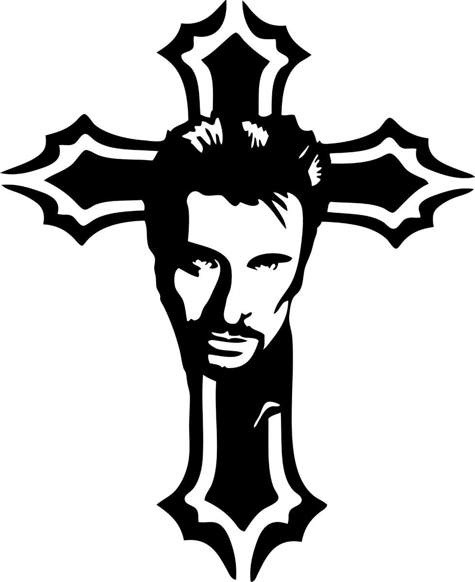 Stickers Croix De Johnny Hallyday Musique Chanteurs Groupes Etc