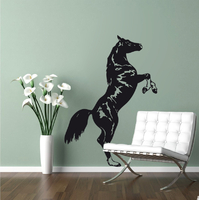 STICKERS CHEVAL DRESSE