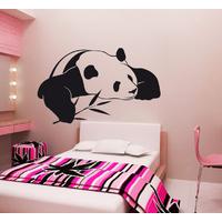 Stickers Panda au bambou