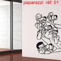 Stickers photographe star paparazzi réf 01