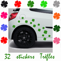 Stickers tuning Trèfles à 4 feuilles