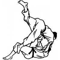 Stickers Judo réf 03