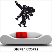 Stickers judo réf 02