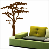 Sticker arbre savane