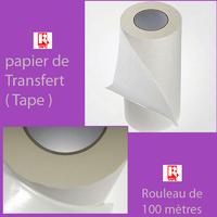 film TRANSFERT  TAPE  papier de transfert Vinyle semi transparent