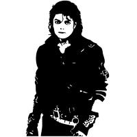 Stickers Mickaël Jackson réf 04
