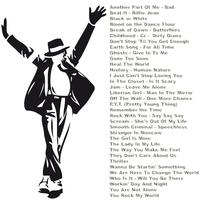 Sticker Mickaël Jackson 50 titres