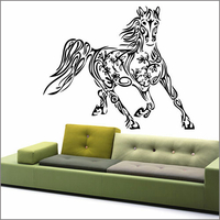 Sticker cheval tatoo 2
