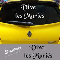 STICKER MARIAGE Vive les Mariés