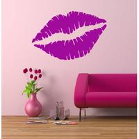 Stickers bouche sensuelle