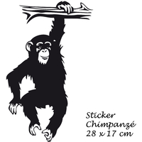Stickers CHIMPANZE