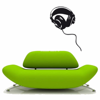Stickers musique Casque Audio 02