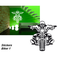 Stickers moto Biker 01