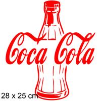 stickers bouteille de coca