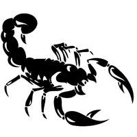 Stickers Scorpion 05