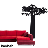 Stickers arbre BAOBAB 012