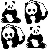 Stickers 4 pandas