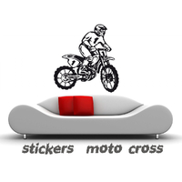 Stickers moto cross 012