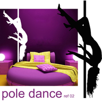 Stickers POLE DANCE 2