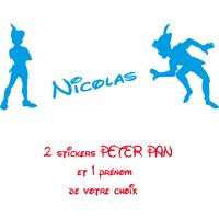 Stickers enfant personnalisé Peter Pan