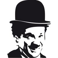 Stickers Charlot Charlie Chaplin