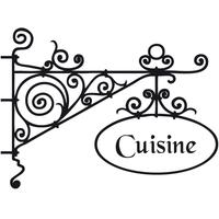 Sticker enseigne cuisine