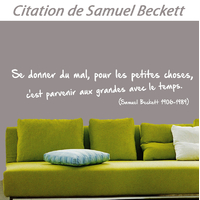 Stickers citation de Samuel Beckett